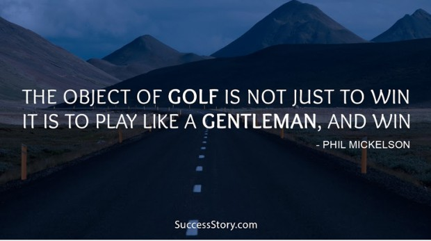 the object of golf