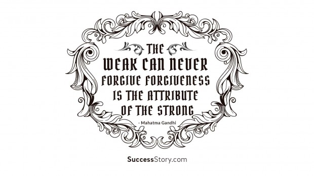 The Weak Can Never Forgi 1