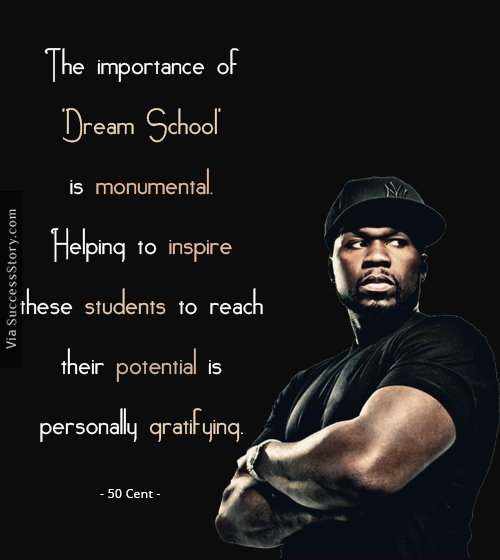 5 Amazing Quotes by Famous Rapper 50 Cent | Inspirational Quotes