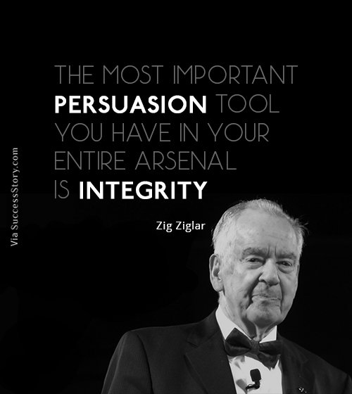 The most important persuasion tool you
