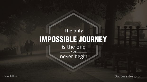The only impossible journey