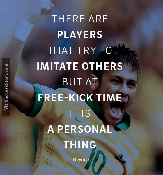 There are players that try to imitate others