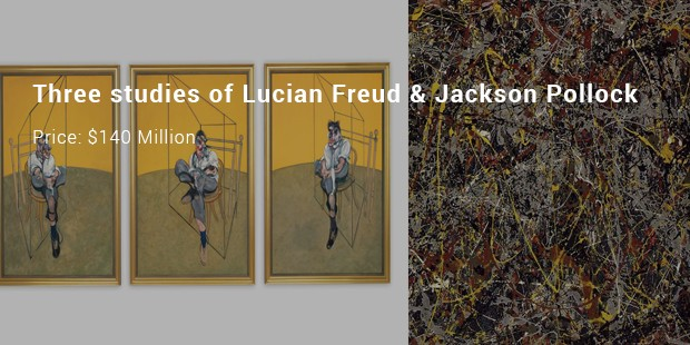 three studies of lucian freud   jackson pollock
