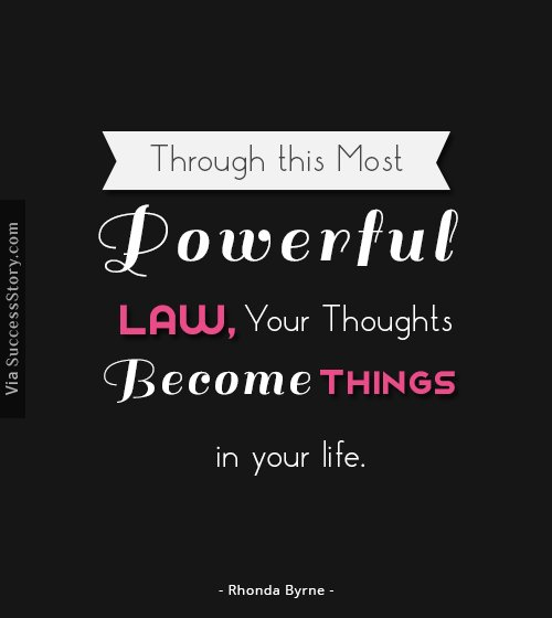 Through this most powerful law