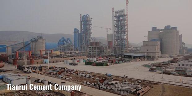 tianrui cement company