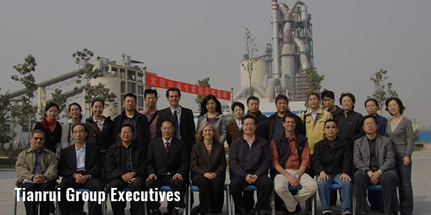 tianrui group executives