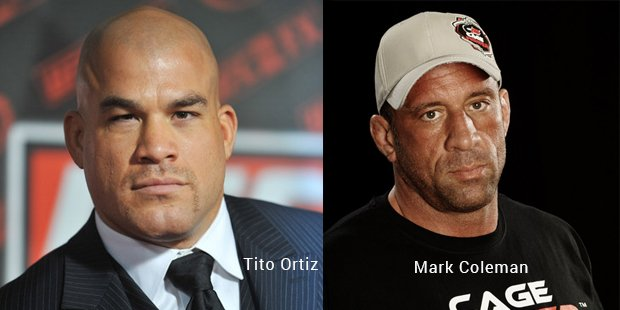 tito ortiz and mark coleman