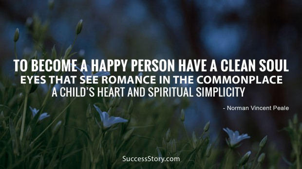 to become happy person