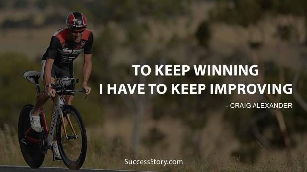 to keep winning