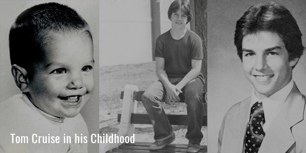 Tom Cruise in his Childhood