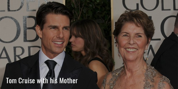 Tom Cruise with his Mother
