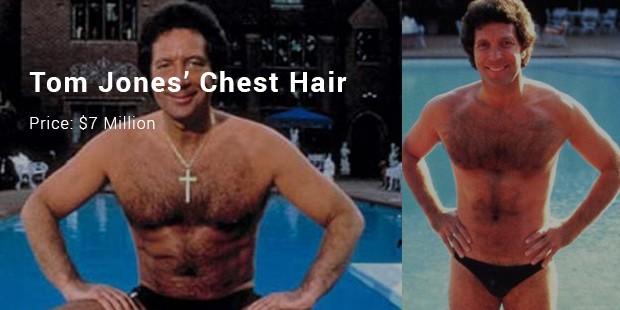 tom jones' chest hair