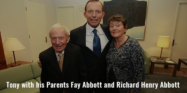 tony with his parents fay abbott and richard henry abbott