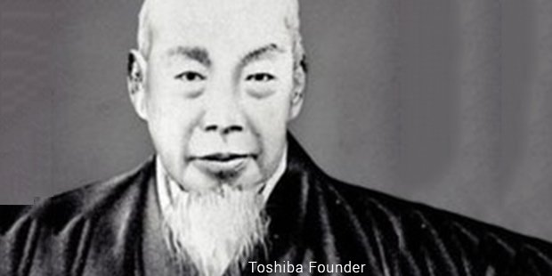 toshiba founder