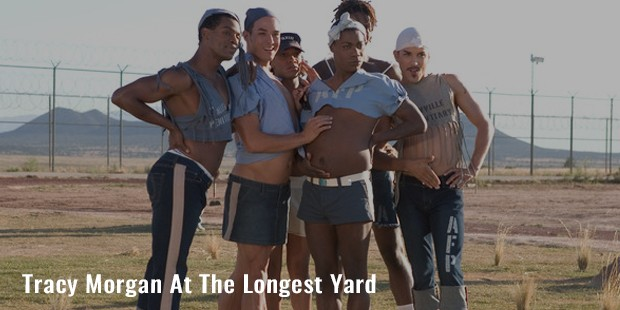 tracy morgan at the longest yard