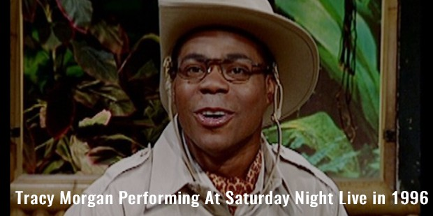 tracy morgan performing at saturday night live in 1996