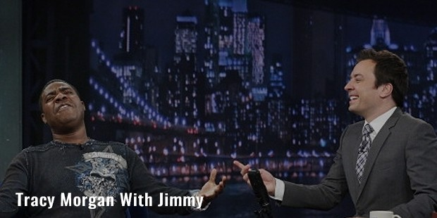 tracy morgan with jimmy