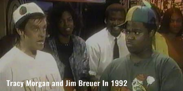 tracy morgan and jim breuer in 1992
