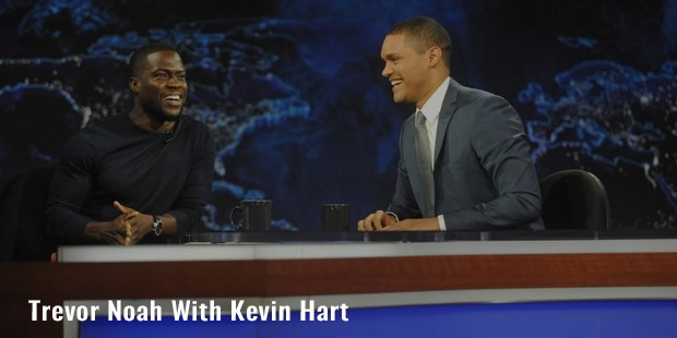 trevor noah with kevin hart