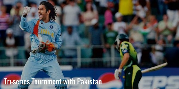 Tri series Tournment with Pakistan