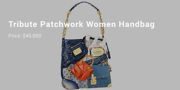 tribute patchwork women handbag