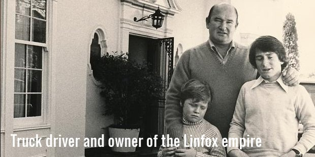 truck driver and owner of the linfox empire