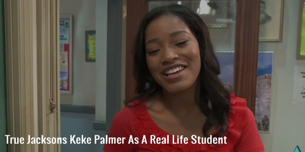 true jacksons keke palmer as a real life student