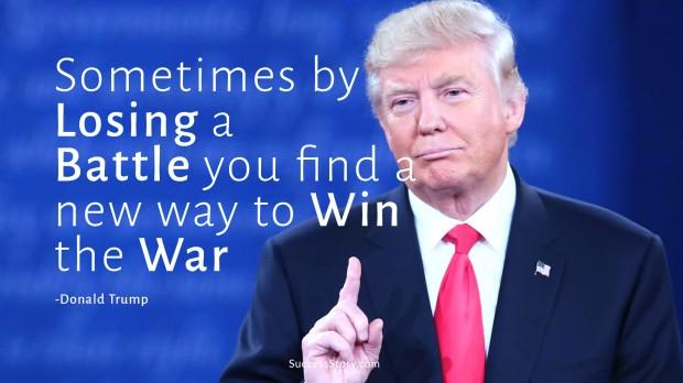 trump on losing