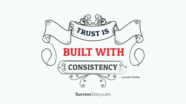 trust is built with
