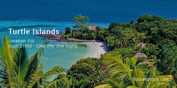 turtle islands fiji