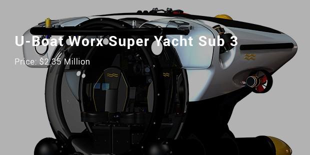 u boat worx super yacht sub 3