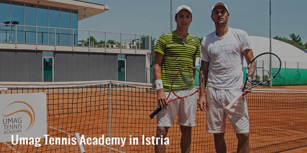 umag tennis academy in istria
