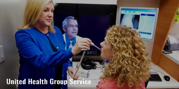 united health group service