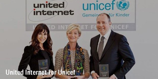 united internet for unicef