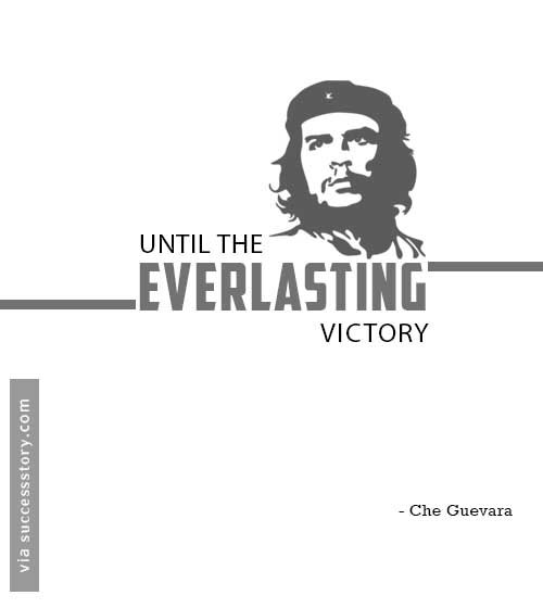 Until the everlasting victory