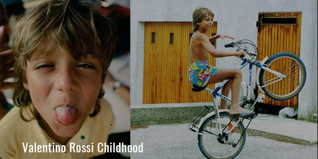 Valentino Rossi Childhood