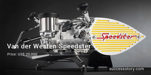 van der westen speedster machine