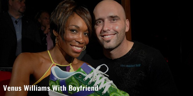venus williams with boyfriend