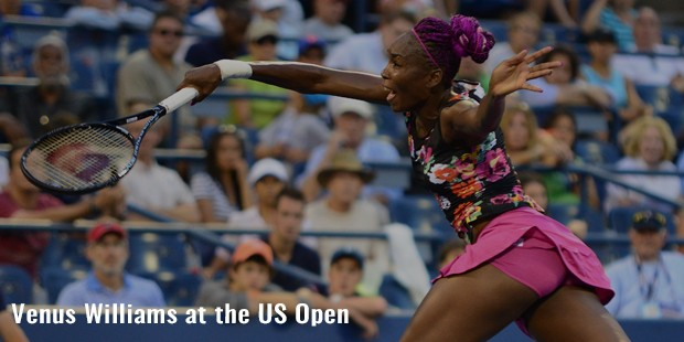 venus williams at the us open