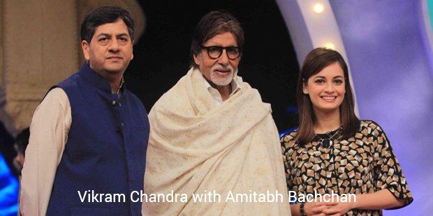 Amitabh Bachchan and Vikram Chandra Ndtv