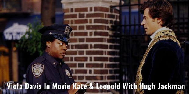viola davis in movie kate   leopold with hugh jackman