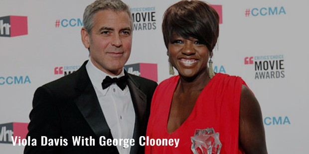 viola davis with george clooney