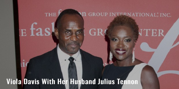 viola davis with her husband julius tennon