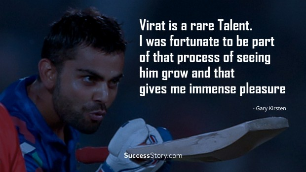 virat is a rare talent