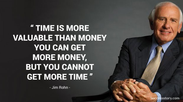 Time is more valuable