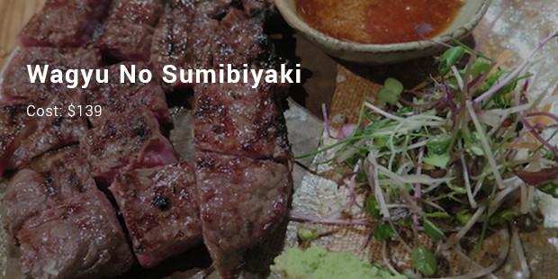 wagyu no sumibiyaki