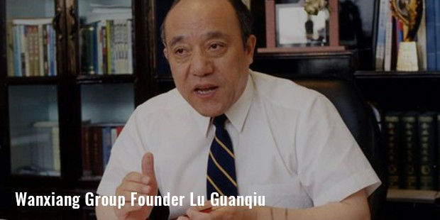 wanxiang group founder lu guanqiu