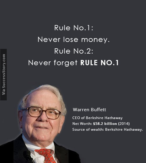 Warren Buffets name