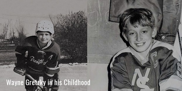 wayne gretzky in his childhood