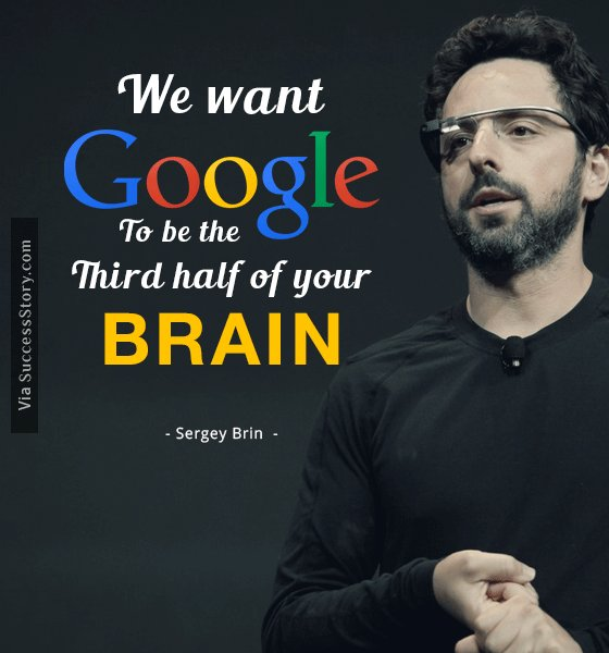 We want Google to be the third